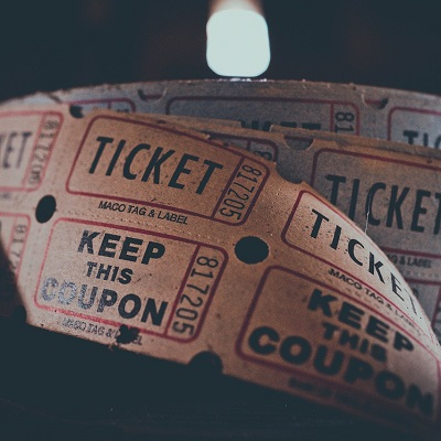 Image of movie tickets